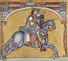 """""""Cid Campeador que en buena hora ceñiste la espada, ya que a Castejón tenemos tendida buena celada, vos os quedaréis aquí con cien hombres a la zaga y yo haré una correría con doscientos en vanguardia; con Dios y con vuestra suerte será la empresa ganada."""""""