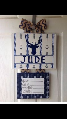 5 off baby hospital door decorations Baby Hospital by Hospital Door Decorations, Hospital Door Hangers, Baby Door Hangers, Baby Hospital Gifts, Birth Announcement Boy, Birth Announcements, After Baby, Baby Deer, Baby Boy