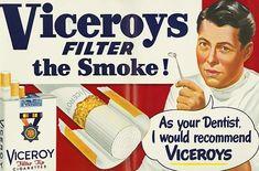 Sentado frente al Mundo: Cuando los médicos recomendaban cigarrillos