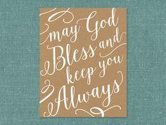 May God Bless and Ke
