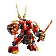 LEGO Ninjago Master of Spinjitzu Kai's Fire Mech #70504 The Final Battle Seal...