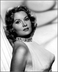 """Rhonda Fleming. B:1923. Movie and TV Actress from 1943-1990, she became renowned as one of the most beautiful and glamorous actresses of her day. She was nicknamed the """"Queen of Technicolor"""" because her fair complexion and flaming red hair photographed exceptionally well in Technicolor. She has spent the latter part of her life working with charities, especially in the field of cancer care."""