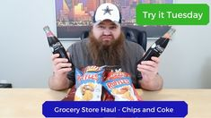 Grocery Store Haul - New Chips and Coke - Try it Tuesday