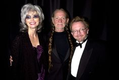 Emmylou Harris, Willie Nelson and Paul Williams