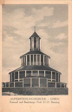Bartning, Otto - Auferstehungskirche, Essen (Church of the Resurrection, Essen), 1929-1930