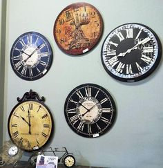 Count down to the New Year with a selection of clocks from Jerome's Furniture