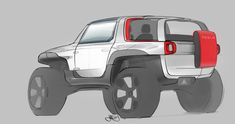 Jason McGinnity | Tesla Allterrain Concept | Sponsored Thesis 2015