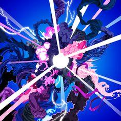 Hyperwave Art Print by James Roper Character Art, Character Design, Animation, Graffiti Art, Art Inspo, Art Reference, Design Art, Cover Design, Cool Art