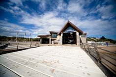 Exmouth RNLI Lifeboat Station, Devon by Cornwall Architects The Bazeley Partnership. Photography: Girts Galens