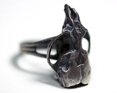 Formula 86. Sterling mouse skull ring. – Blood Milk Jewels