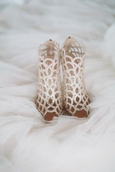 Featured Photographer: Mango Studios; wedding shoes idea