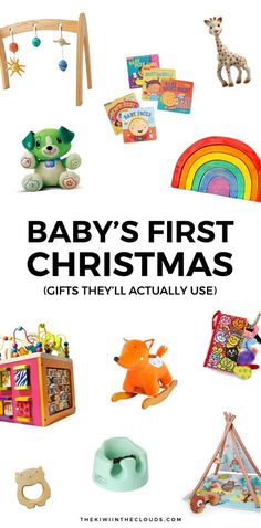 Great gift ideas for a 3 month old baby, 4 month old baby and 5 ...