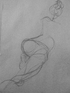 gesture drawing by Kat Ostrow