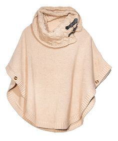 Perfect for achieving a layered look, this poncho will add fantastic texture to an ensemble with its cozy cable knit cowl neck. Buttons and buckles are additional style elements worth taking note acrylicHand washImported Knit Cowl, Knitted Poncho, Cable Knit, Scarf Vest, Layered Look, Winter Wear, Cheap Clothes, Well Dressed, My Wardrobe