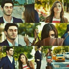 meeting of HayMur♡ Cutest Couple Ever, Best Couple, Cute Love Stories, Love Story, Romantic Couples, Cute Couples, Murat And Hayat Pics, Best Duos, Fiction Stories