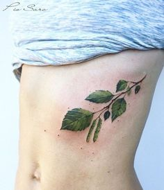 Pis Saro leaves tattoo