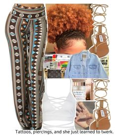 """✨"" by divap01 ❤ liked on Polyvore featuring Miss Jessie's, Steve Madden and WithChic"