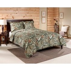Mossy Oak Break-Up Infinity Mini Comforter Set, Queen - One mini set has by Queen comforter and by shams polyester Machine Wash Cold and tumble dry low or line dry - comforter-sets, bedroom-sheets-comforters, bedroom - - Queen Size Comforter Sets, Bedding Sets, King Comforter, Queen Bedding, Camouflage, Camo Bedding, Mossy Oak, Luxury Bedding, Unique Bedding