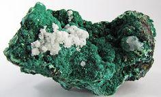#Malachite -  #Calcite