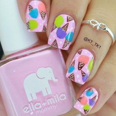 Best Summer Nails - 66 Top Summer Nails for 2018 - Best Nail Art