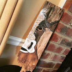 Peekaboo cow on barnwood,complete with rusty nails, a crumbly end, and tons of character.  #cow #barnwood #rustic #farmhousedecor #handmadeisbetter #taterbuggin #handmade #art #decor #buyhandmade #memphis #memphisartist #tennessee #choose901 #homedecor #thelovelyhandmade #craftcurate #ilovememphis #creatorcommunity #supportsmallbusiness #shopsmall #southernartist #shopsmalllove #handmadehomegoods #thehivehandmade #makersmovement