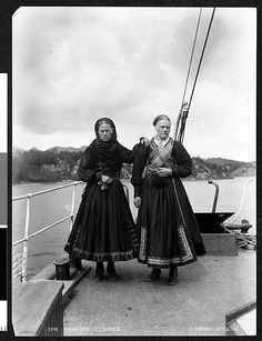 Telemarken Exist in the library of Congress. Folk Costume, Costumes, Norse Pagan, Library Of Congress, Folklore, Old Photos, History, Norway People, Pictures