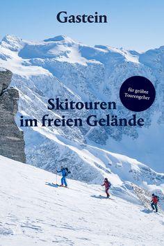 Für geübte Tourengeher hat das Gasteinertal viele traumhafte Routen parat, frag doch einen geprüften Ski- oder Bergführer nach den schönsten Plätzen. Wenn du deine erste Skitour machen möchtest, dann leih dir die notwendige Ausrüstung im Winterurlaub am besten aus und buche einen Guide, der dir mit wertvollen Tipps und Tricks die Faszination dieses Sports zeigt. Ski Touring, Trekking, Skiing, Tours, Adventure, Country, Travel, Happy, Beautiful