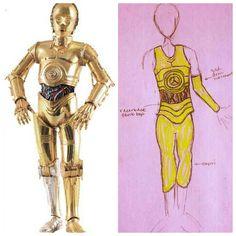 Costume idea for Disneyland Star Wars Half Marathon. #C3PO #rundisney