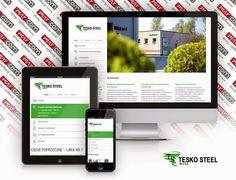 Responsive webdesign by Marcom Interactive Poland - www.teskosteel.eu. / Responsywna strona internetowa wykonana przez Marcom Interactive.