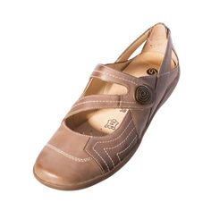 Remonte R1707 15 Liv Brown Combi Leather Velcro Strap Shoe Upper: leather Lining: leather/other material Sole: other material Removable footbed A stylish comfortable Mary Jane shoe with velcro fasten. Optimal width comfort Shock absorbing insole