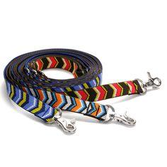 Waggo Chevron Pattern Dog Leash