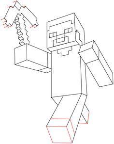 Minecraft Karakter Cizimleri Ile Ilgili Gorsel Sonucu Boyama