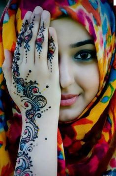Henna art-Aliyah would love this one
