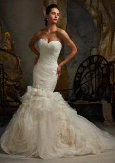 Bridal Dress From Blu By Mori Lee Dress Style 5104- This gown can be found at Fancy Frocks in Murrells Inlet, SC #FancyFrocks