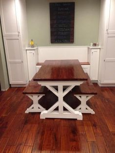 New Kitchen, New Table! | Do It Yourself Home Projects from Ana White