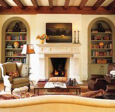 Sitting room by Fern Santini