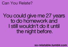 So true sometimes.