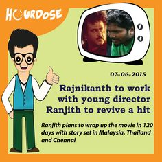 Rajnikanth to work with young director Ranjith to revive a hit