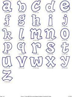 Hipster Applique Machine Embroidery Alphabet Mais