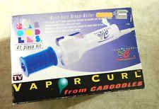 Vintage Vapor-Curl Hand Held Steam Roller Hair Curler Caboodles complete set