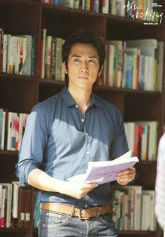 Song seung heon in When A Man.Loves