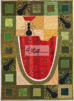 LOVE this quilt - From Kim Schaefer's Calendar Quilts
