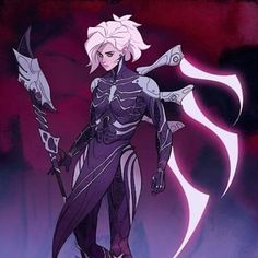 Mercy...? a necromancer...? I can see that, actually.