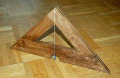 Santo Tomás de alianza - carpintería medieval, muebles y otras artesanías: El toolchest medieval: el nivel y la plomada