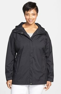 Free shipping and returns on Columbia 'Splash a Little' Modern Classic Fit Waterproof Rain Jacket (Plus Size) at Nordstrom.com. An essential rain jacket featuring a slightly longer cut offers Omni-Tech waterproofing that maintains breathability, so you won't feel sweaty and clammy. A drawcord at the hood and adjustable cuff tabs work with the fully seam-sealed shell to keep the wind and rain outside.