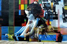 Mural by Eduardo Kobra - Wynwood, Miami