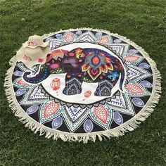 India Tapestry With Tassels Bohemia Mandala Tapestry Wall Hanging Hippie Tapestry Beach Mat Blanket Bikini Cover Up Tippet