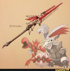pokemon, weapon, pokeapon