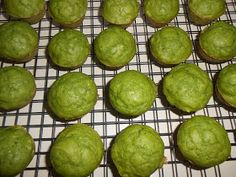 Kara's Family Eats: Spinach Mini Muffins!-so delicious! but mine were a little dry, will up the applesauce or add a banana next time