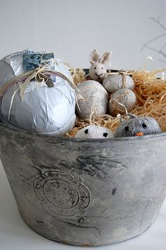 Easter in grey